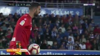 خلاصه لالیگا: آلاوز 1-0 رئال مادرید