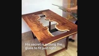 میزهای آینه ای طبیعت گرا