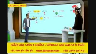 تدریس الکتریسیته ساکن توسط مهندس امیر مسعودی در برنامه اوج یادگیری کنکور اسان است