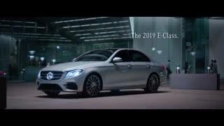 تبلیغ تلویزیونی مرسدس برای خودروهای E-Class سال 2019
