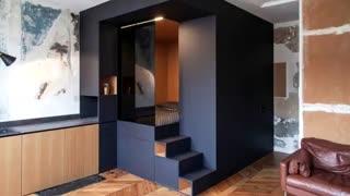 ایده هایی برای طراحی دکوراسیون خانه های کوچک...