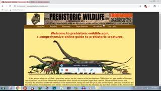 بهترین سایت درباره دایناسور ها و موجودات ماقبل تاریخ