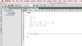 آموزش برنامه نویسی به زبان PHP - جلسه سوم : متغیرها و ثابت ها در PHP