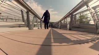 وصف زیبای پل طبیعت از نگاه یک نابینا