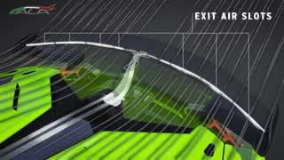 ویدئوی معرفی سیستم آئرودینامیک ALA 2.0 خودروی لامبورگینی Aventador SVJ
