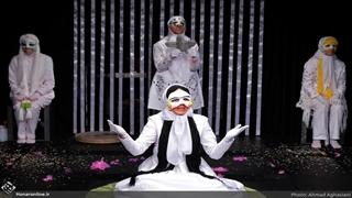 تئاتری با هنرمندی یک قربانی اسیدپاشی