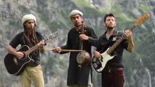 اجرای زیبای گروه موسیقیANNA RF در کوهستان آلپ
