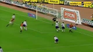 پلی به گذشته - اولین بازی فرانچسکو توتی برای رم به عنوان کاپیتان (1998)