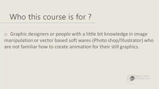 آموزش موشن گرافیک در افتر افکت