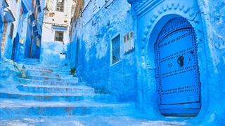 شهر زیبا و آبی رنگ شفشاون در مراکش