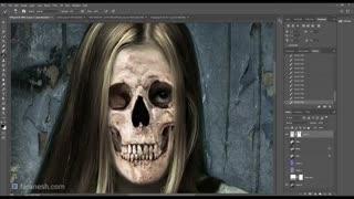 ساختن ویدیو ترسناک در فوتوشاپ