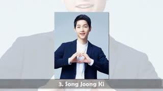 لیست جدید 10بازیگر زیبای مرد کره ای 2018