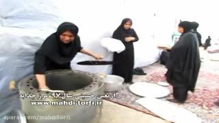 شور و شوق اربعین حسینی در مرز چذابه