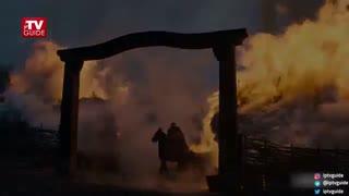 اولین تیزر از سریال فصل سوم سریال تاریخی-حماسی «آخرین پادشاهی» (زیرنویس فارسی)