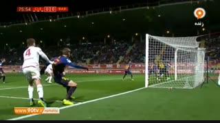خلاصه حذفی اسپانیا: لئونسا ۰-۱ بارسلونا